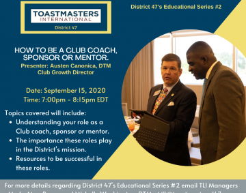 HOW TO BE A CLUB COACH SPONSOR AND MENTOR (1)