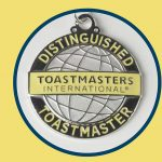 The Distinguished Toastmaster (DTM) award