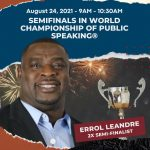 The Semifinals in the World Championship of Public Speaking